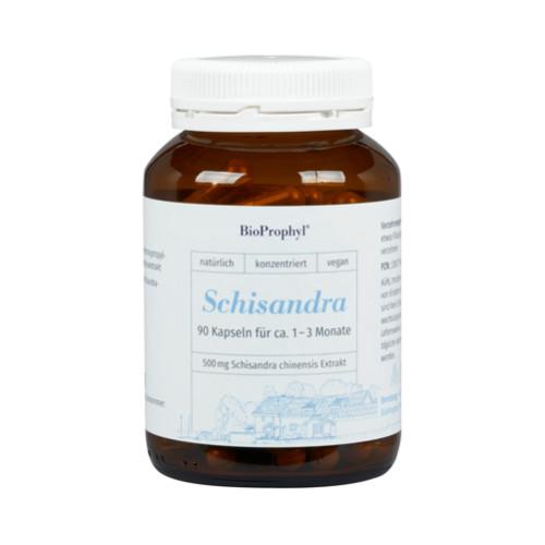 Schisandra chinensis - 500mg Schisandra Extrakt, 90 ST, Bioprophyl GmbH