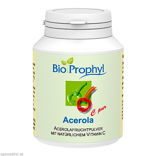 ACEROLA C pur 1320 mg Acerolafruchtpulver Lut.-T., 60 ST, BioProphyl GmbH