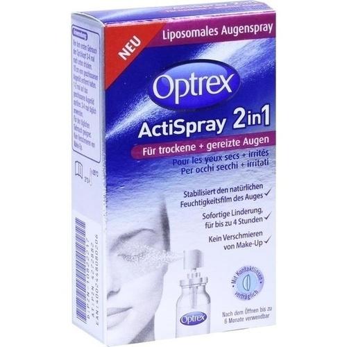 Optrex ActiSpray 2in1 für trockene+gereizte Augen, 10 ML, Reckitt Benckiser Deutschland GmbH
