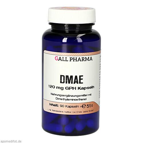 DMAE 120mg GPH Kapseln, 90 ST, Hecht-Pharma GmbH