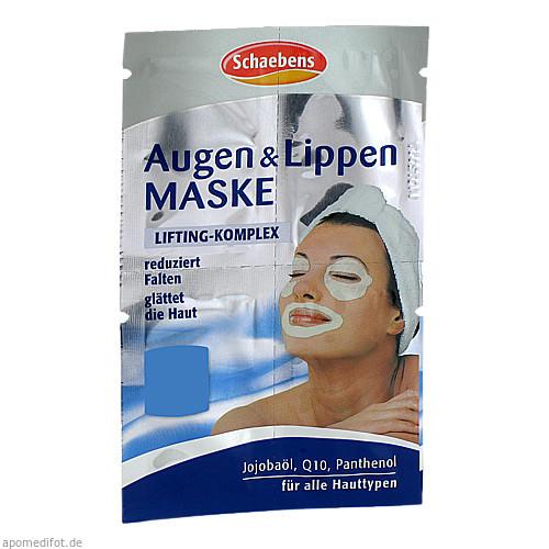 Augen & Lippen Maske, 1 ST, A. Moras & Comp. GmbH & Co. KG