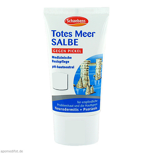 Totes Meer Salbe, 1 ST, A. Moras & Comp. GmbH & Co. KG