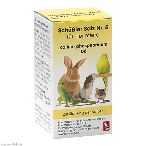 SCHÜSSLER SALZ Nr.5 Kalium phos.D 6 f.Heimtiere, 200 ST, Dr.RECKEWEG & Co. GmbH