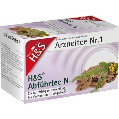 H&S Abführtee N, 20 ST, H&S Tee - Gesellschaft mbH & Co.