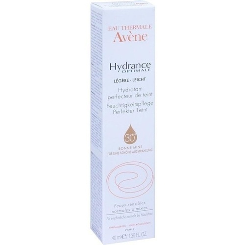 AVENE Hydrance Optimale perfekter Teint legere Cr., 40 ML, PIERRE FABRE DERMO KOSMETIK GmbH
