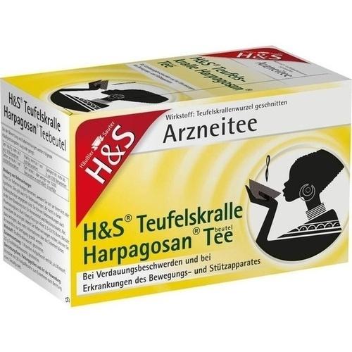 H&S Teufelskralle Harpagosan-Tee FS, 20X2.5 G, H&S Tee - Gesellschaft mbH & Co.