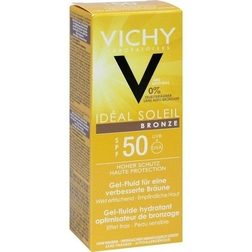 Vichy Capital Ideal Soleil BRONZE Gesicht LSF 50, 50 ML, L'Oréal Deutschland GmbH