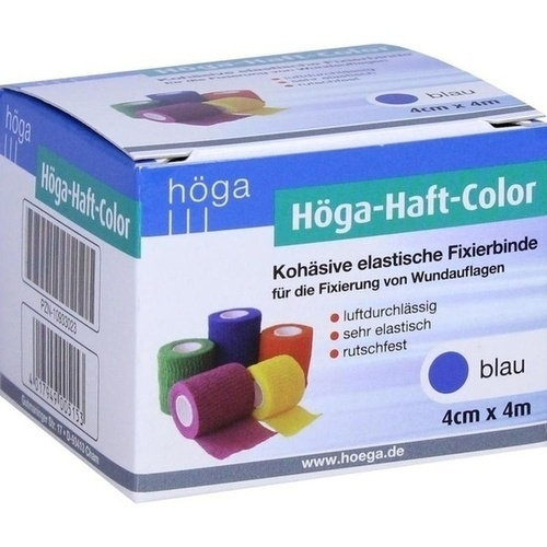 Höga-Haft Color 4cmx4m blau, 1 ST, Höga-Pharm G.Höcherl