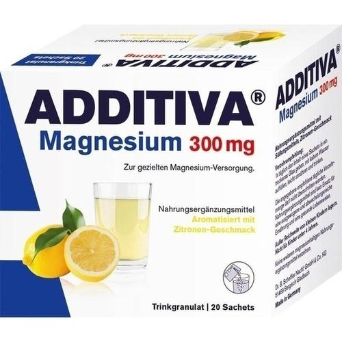 ADDITIVA Magnesium 300mg N, 20 ST, Dr.B.Scheffler Nachf. GmbH & Co. KG