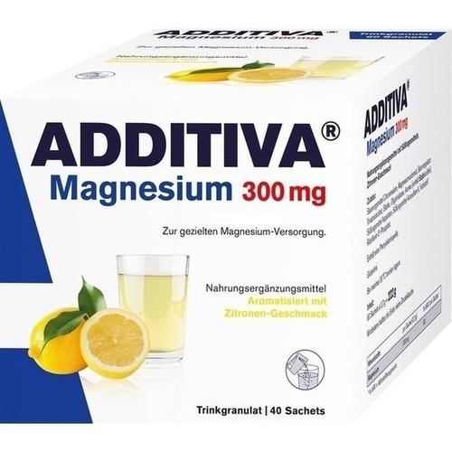 ADDITIVA Magnesium 300 mg N Pulver, 40 ST, Dr.B.Scheffler Nachf. GmbH & Co. KG