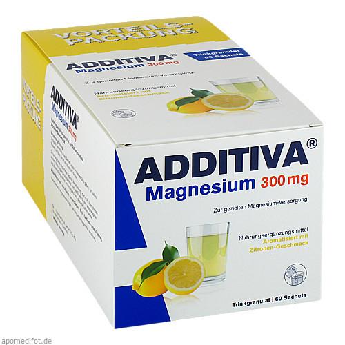 ADDITIVA Magnesium 300mg N, 60 ST, Dr.B.Scheffler Nachf. GmbH & Co. KG