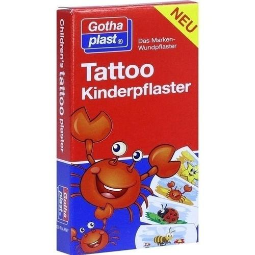 Tattoo Kinderpflaster 25x57mm, 8 ST, Gothaplast GmbH
