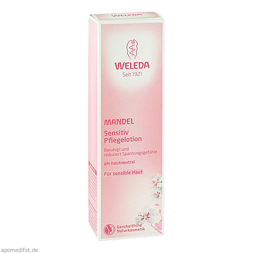 Weleda Mandel Sensitiv Pflegelotion, 200 ML, Weleda AG