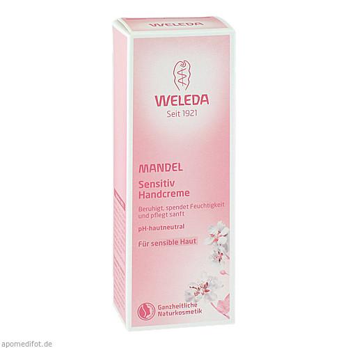 Weleda Mandel Sensitiv Handcreme, 50 ML, Weleda AG