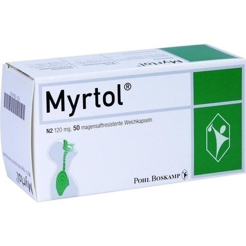 Myrtol, 50 ST, G. Pohl-Boskamp GmbH & Co. KG