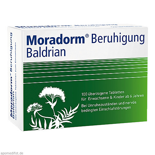Moradorm Beruhigung Baldrian, 100 ST, Apotheker Walter Bouhon GmbH