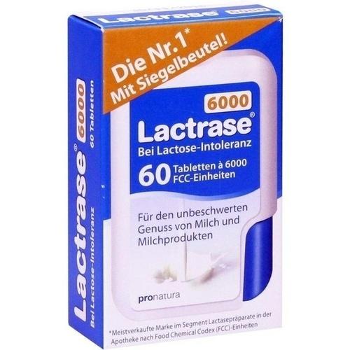Lactrase 6000 FCC Tabletten im Klickspender, 60 ST, Pro Natura Gesellschaft Für Gesunde Ernährung mbH