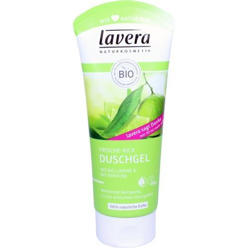 lavera DUSCHGEL Bio-Limone + Bio-Verveine, 200 ML, Laverana GmbH & Co. KG