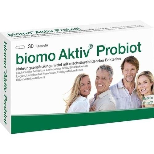 biomo Aktiv Probiot, 30 ST, Biomo-Vital GmbH