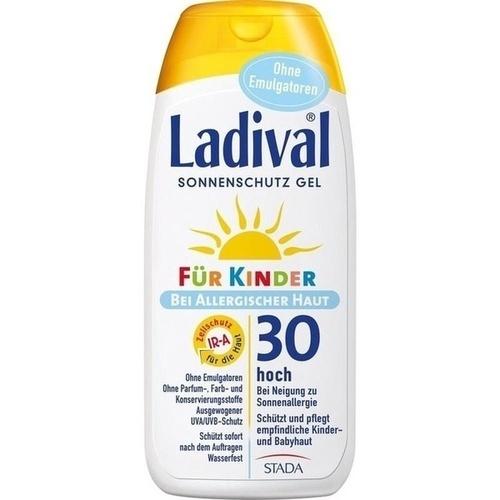Ladival für Kinder allergische Haut Gel LSF 30, 200 ML, STADA GmbH