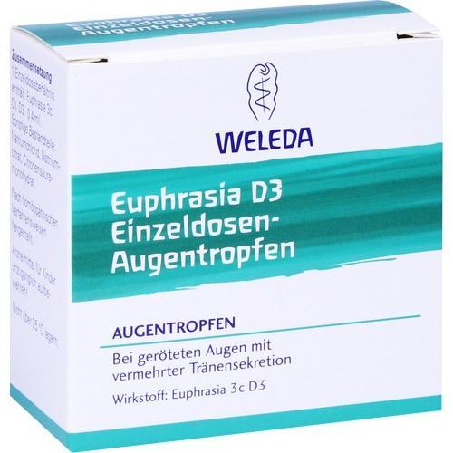 Euphrasia D3 Einzeldosen-Augentropfen, 20X0.4 ML, Weleda AG
