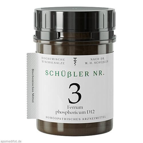 Schuessler Nr. 3 Fer. phos. D12, 400 ST, Apofaktur E.K.