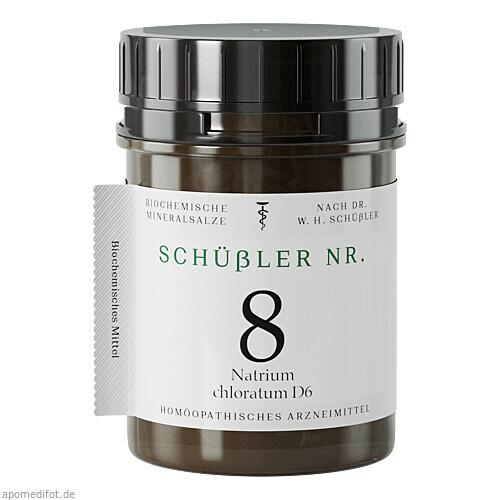 Schuessler Nr. 8 Nat. chlor. D6, 400 ST, Apofaktur E.K.
