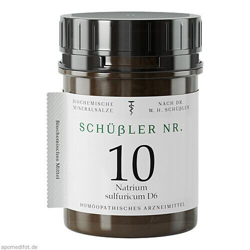 Schuessler Nr. 10 Nat. sulf. D6, 400 ST, Apofaktur E.K.