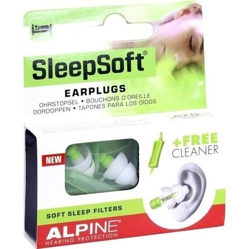 Alpine SleepSoft Ohrstöpsel, 2 ST, Alpine Nederland B.V.