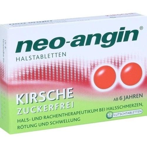 neo-angin Halstabletten Kirsche, 12 ST, MCM KLOSTERFRAU Vertr. GmbH