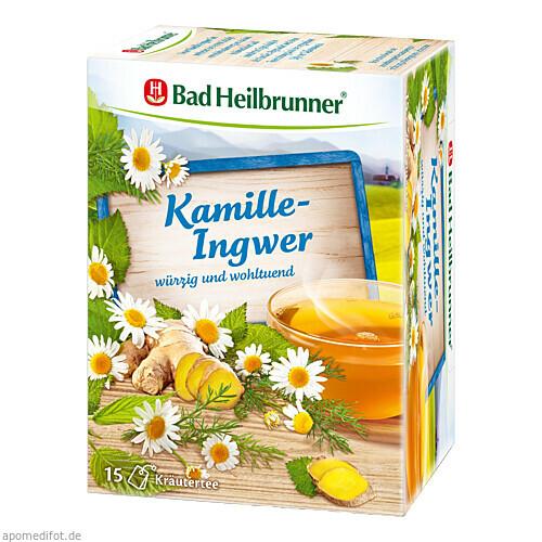 Bad Heilbrunner Kamille-Ingwer Tee, 15X2.0 G, Bad Heilbrunner Naturheilmittel GmbH & Co. KG