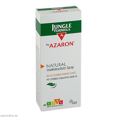 Jungle Formula by AZARON NATURAL, 75 ML, Omega Pharma Deutschland GmbH