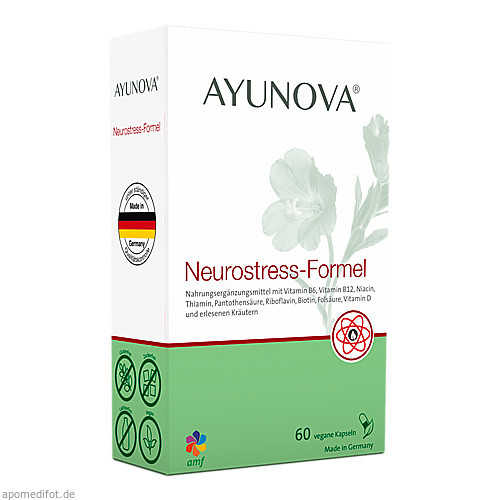 AYUNOVA Neurostress-Formel, 60 ST, Amf Herbal GmbH