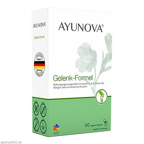 AYUNOVA Gelenk-Formel, 60 ST, Amf Herbal GmbH