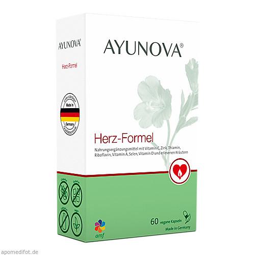 AYUNOVA Herz-Formel, 60 ST, Amf Herbal GmbH