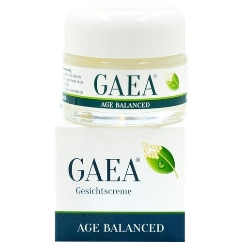 Gaea Age Balanced Gesichtscreme, 50 ML, KREPHA GmbH & Co.KG