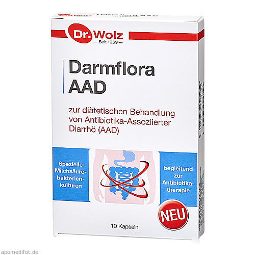 Darmflora AAD, 10 ST, Dr. Wolz Zell GmbH