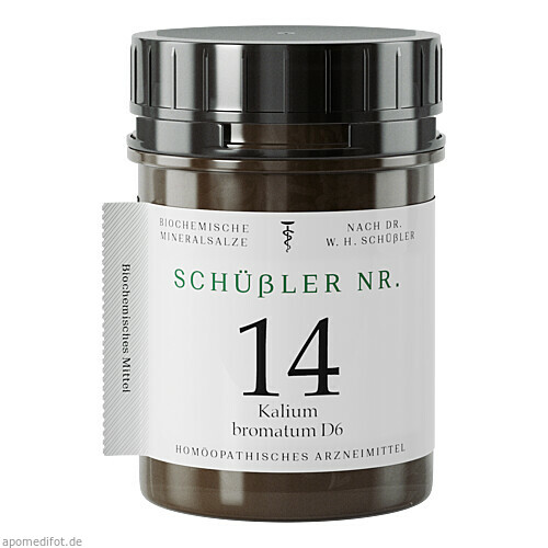 Schüssler Nr. 14 Kal. brom. D6, 400 ST, Apofaktur E.K.