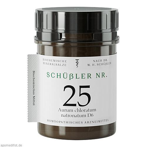 Schüssler Nr. 25 Aur. chlor. natr. D6, 400 ST, Apofaktur E.K.