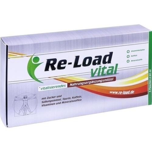 RE-LOAD vital flüssig, 5X60 ML, Dr. Döllefeld GmbH