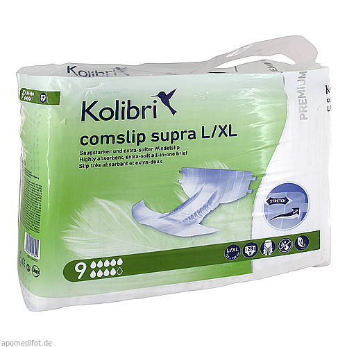 Kolibri comslip premium supra L/XL, 28 ST, Igefa Handelsgesellschaft Mbh & Co. KG