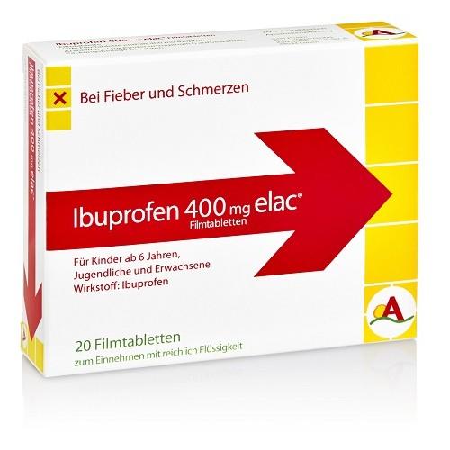 Ibuprofen 400 mg elac, 20 ST, Inter Pharm Arzneimittel GmbH