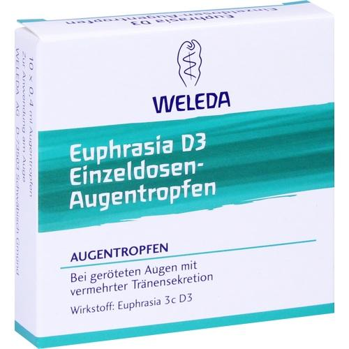 Euphrasia D3 Einzeldosen-Augentropfen, 10X0.4 ML, Weleda AG