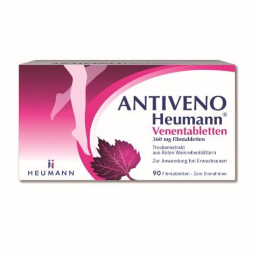 Antiveno Heumann Venentabletten Filmtabletten, 90 ST, Heumann Pharma GmbH & Co. Generica KG