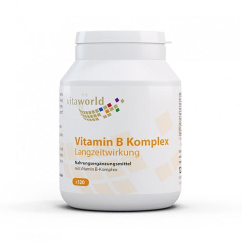 Vitamin B Komplex Langzeit, 120 ST, Vita World GmbH