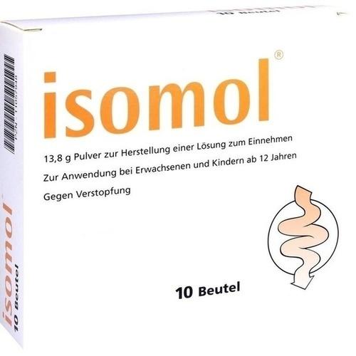 ISOMOL Plv.z.Herst.einer Lösung zum Einnehmen, 10 ST, Marpha GmbH
