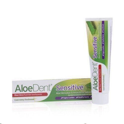 Aloe-Vera-Zahnpasta Sensitiv mit Fluor, 100 ML, Groß GmbH