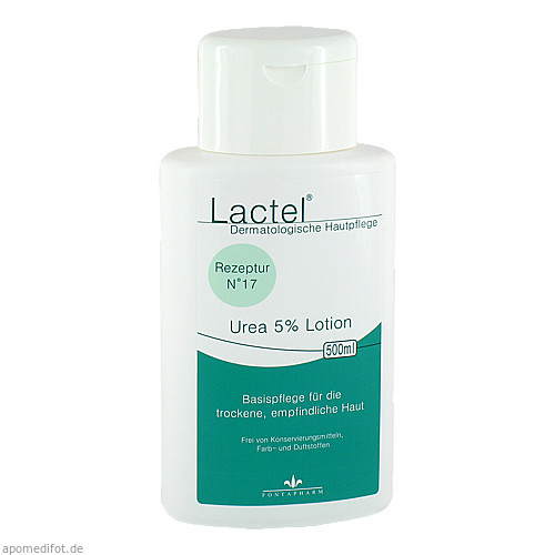 Lactel Urea 5% Lotion, 500 ML, Fontapharm AG