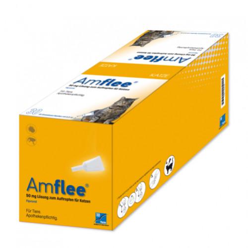 AMFLEE 50 mg Spot-on Lösung z.Auftropfen f.Katzen, 30 ST, TAD Pharma GmbH