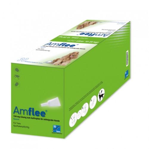 AMFLEE 134 mg Spot-on Lsg.f.mittelgr.Hunde 10-20kg, 30 ST, TAD Pharma GmbH